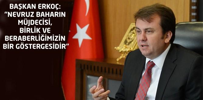 Başkan Erkoç'tan Nevruz Mesajı