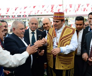 Kahramanmaraş'ta Güreş Turnuvası Düzenlendi