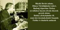 Başbuğ Alparslan Türkeş, Dualarla Anılıyor
