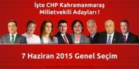 Seçim 2015 – CHP Kahramanmaraş Milletvekili Adayları Açıklandı