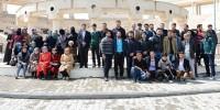 TÖMER'in Türkçe Kursuna Katılan Suriyeliler'den KSÜ'ye Ziyaret