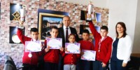 NFK İlkokulu'nda Satranç Başarısı