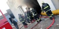 Kahramanmaraş'ta Tekstil Fabrikası'nda Yangın Çıktı