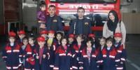 Kahramanmaraş'ta Anaokulu Öğrencileri İtfaiyeye Ziyaret Etti