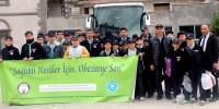 İzciler, Kahramanmaraş'tan Çanakkale Kampına Kına Yakılarak Uğurlandılar