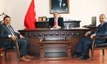 Millî Eğitim Müdürü Akkurt, Çağlayancerit Kaymakamı Tepeli'yi Ziyaret Etti.