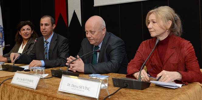 """KSÜ'de """"Türkiye AB İlişkileri Kapsamında Sosyal Bilimlerde Eğitim Araştırma ve Etik"""" Paneli"""