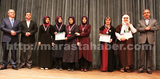 Kahramanmaraş'ta İHL Arapça Yarışmaları Yapıldı