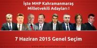 Seçim 2015 – MHP Kahramanmaraş Milletvekili Adayları Açıklandı