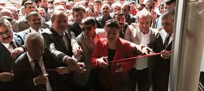 MHP Çağlayancerit Seçim Bürosunu Açtı