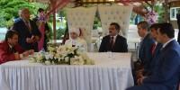 Başkan Erkoç Engelli Çiftin Nikâhını Kıydı