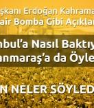 Cumhurbaşkanı Erdoğan Kahramanmaraş'ta Toplu Açılışlar ve Miting Yaptı !