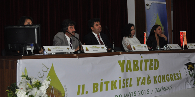 Zeytindostu Derneği Yağ Kongresinde Zeytinyağını Öne Çıkardı
