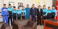 Kahramanmaraş Spor Lisesi Güreş'te Türkiye Şampiyonu