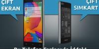 Çift Ekranlı Akıllı Telefon Siswoo R9 Darkmoon İddialı Geliyor !