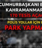 Cumhurbaşkanı Recep Tayyip Erdoğan Kahramanmaraş'ta!