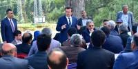Başkan Erkoç Andırın Mahalle Muhtarlarının Sorunlarını Dinledi