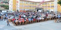 Kahramanmaraş'ta Onikişubat Belediyesi'nin Semt İftarları Başladı