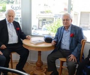 Nuri Pakdil ve Rasim Özdenören Kahramanmaraş Kitap Kafe'de!