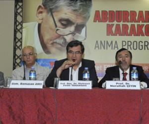 Usta Şair Merhum Abdurrahim Karakoç Anıldı