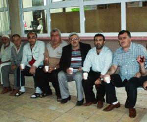 Hz. Hamza Camiinde Ramazan'a Özel Çay ikramı