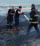 Kahramanmaraş'ta Anız Yangınları Korkutmaya Başladı