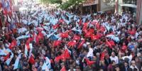 CHP Kahramanmaraş Milletvekili Adayı Dalkara Pazarcık'ta Gövde Gösterisi Yaptı