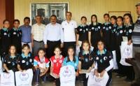 Altın Kızlardan Türkiye Derecesi Başarısı