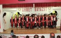Muhteşem bir mezuniyet kutlaması ile okula veda ettiler