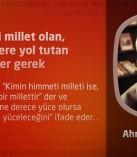 Himmeti millet olan, şeriat üzere yol tutan Türkler gerek
