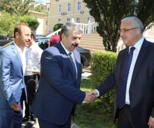 Vali Güvençer Kahramanmaraş'ta Bayramlaştı