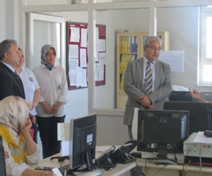 Vali Güvençer'den 112 AÇM Müdürlüğüne Ziyaret