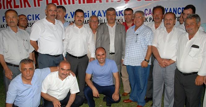 Ak Parti Pazarcık ve Çağlayancerit'te İftarda Buluştu!