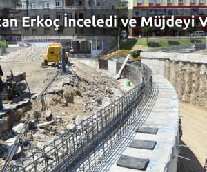 Ulucamii Tünel Kavşak'ta Çalışmalar Devam Ediyor!