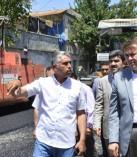 Erkenez Mahallesinde Asfalt Çalışması