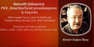 Nekrofil (ölüsevici) PKK, Amerika/İsrail provokasyonu iş başında