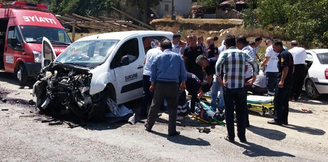Kahramanmaraş'ta Zincirleme Trafik Kazası 1 Ölü, 6 Yaralı!