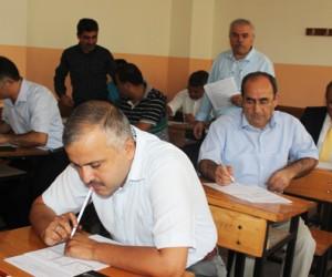 Kahramanmaraş'ta Okul Müdürleri Sınavda