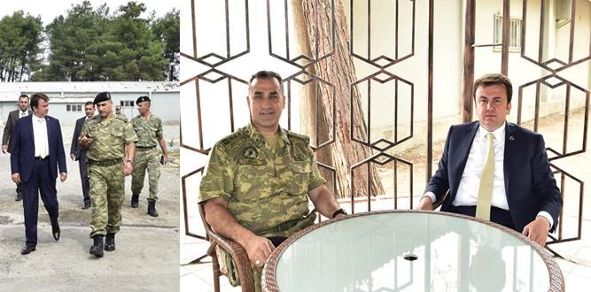 Başkan Erkoç'tan Garnizona Ziyaret