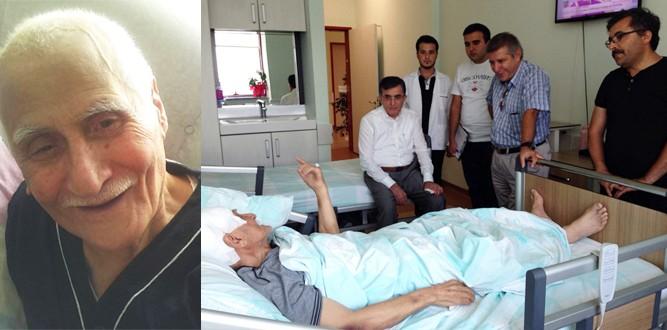 Şair Bahaettin Karakoç sağlığına kavuştu