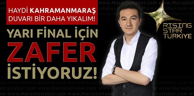 Zafer Bertizlioğlu Rising Star Türkiye'de Yarı Final Yolunda!