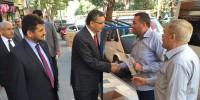 Güvenç Kahrmanmaraş Merkezde Seçim Çalışmalarına Devat Etti