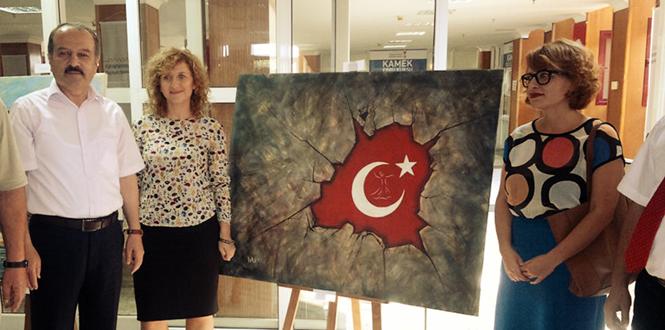 Güzel Sanatlar Fakültesi ve Makedon Ressamların Ortak Sergisi Sanatseverlerle Buluştu