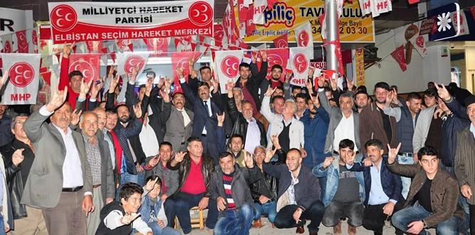Büyük Yapalaklı Gençler 'MHP' Dedi