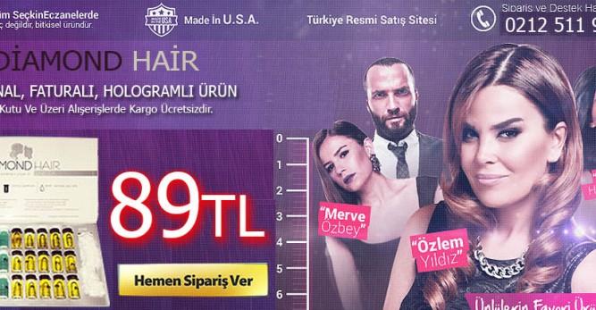 Saç Uzatma ve Diamond Hair Şampuan