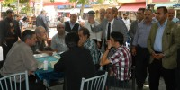 Halkının Adayı Oztunç'a Ilıca'dan Tam Destek