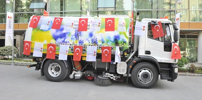 Kahramanmaraş Büyükşehir Belediyesi'nde Araç Filosu Genişliyor