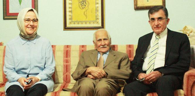 Prof. Dr. Fatih Mehmet Karaaslan'dan Karakoç'a Ziyaret