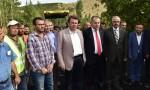 Başkan Erkoç Çağlayancerit'te…