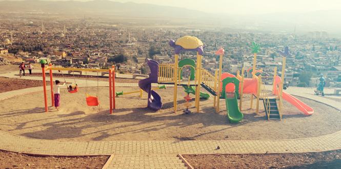 Dulkadiroğlu'ndan Aslanlar Gibi Bir Park Daha